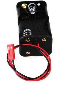 Porta Pilhas - Caixa De Pilhas AA com terminal JST