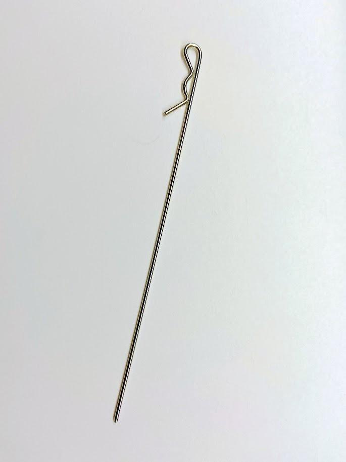 LHP 0587 Clip de bolha em metal longo a unidade
