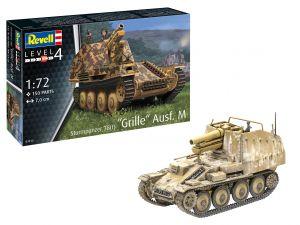 Revell 03315 Sturmpanzer 38 (t) Grille Ausf. M 1:72 Kit Para montar