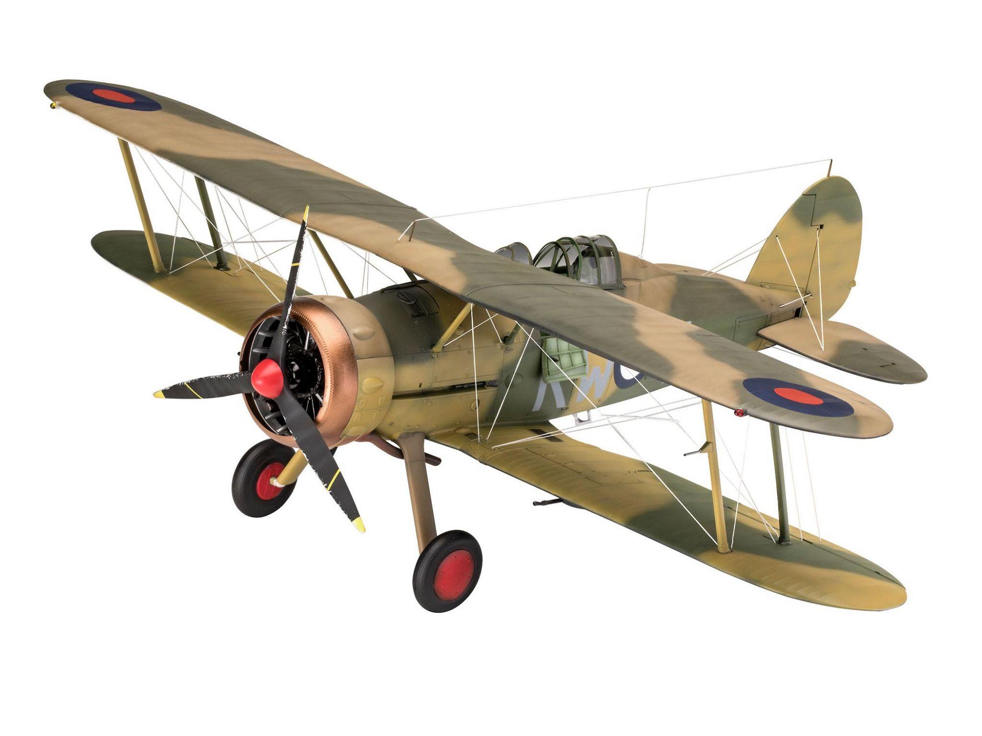 Revell 03846 Gloster Gladiator Mk. II 1:32 kit para Montar