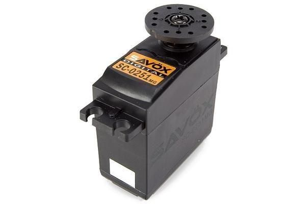 Savox SC-0251 Larger Standard Digital High Torque Metal Gear  16,0 kg-cm