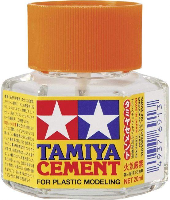 Tamiya 87012 Cola Cement para modelos de plástico 20ml