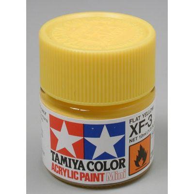 Tinta Acrílica Xf-3 Flat Yellow 1/3 Oz - 10ml