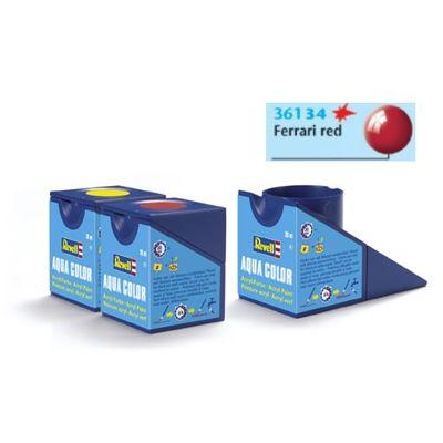 Tinta Revell 36134 Aqua Color - Ferrari Red Gloss 18ml